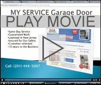 Play MY Service Garage Door Movie